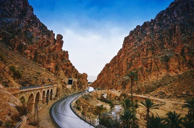 Biskra - El Kantra Like ✔ Transportation Road Mode Of Transport Car Mountain The Way Forward Land Vehicle Winding Road Mountain Road Day Sky Curve Outdoors Tunnel Rocky Mountains Country Road Scenics Mountain Range Rock Formation Algeria Photography EyeEm Algérie Flowing Algeria Biskra