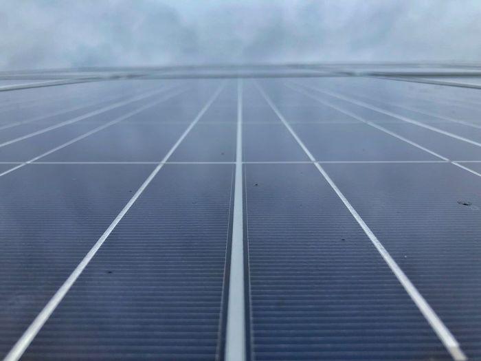 Solar Panel Solar Day Outdoors Pattern Sky Environment