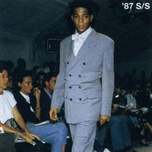 """Fly basquiat"" JeanMichelBasquiat Commedesgarcons Fashion"