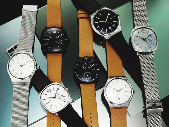 Skagen Watch Watches Fossil Editorial  Editorial Fashion Colors Cyan Colorful Colours