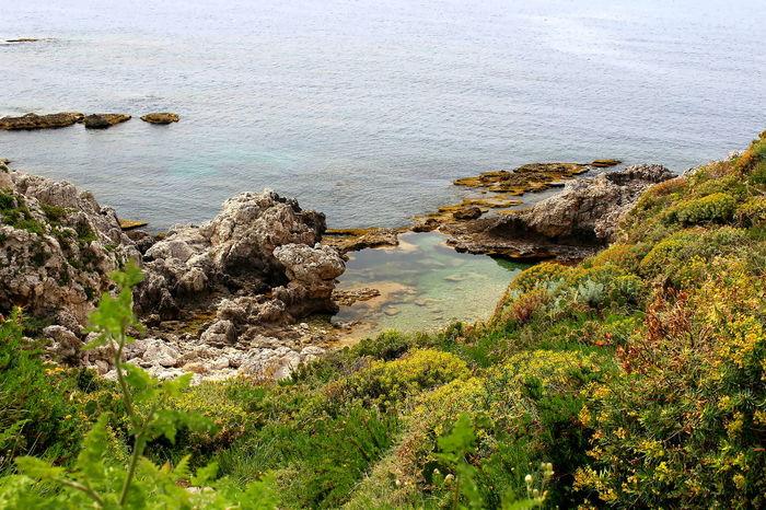 Acqua Beauty In Nature Capo Milazzo Grass Laghetti Milazzo Nature No People Outdoors Piscine Di Venere Riflessi Sull'acqua Rocce Tranquillità Water
