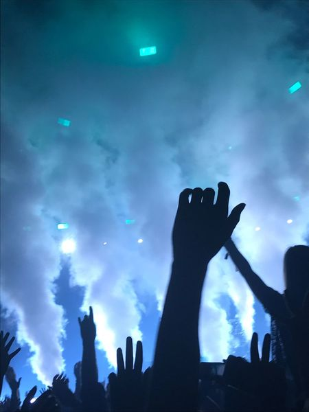 Sommergefühle Nightlife Music Excitement Illuminated Silhouette Arts Culture And Entertainment Music Festival Crowd Night Real People Popular Music Concert Fun Youth Culture Event Enjoyment Audience Arms Raised Human Hand Performance Lifestyles EyeEm Selects