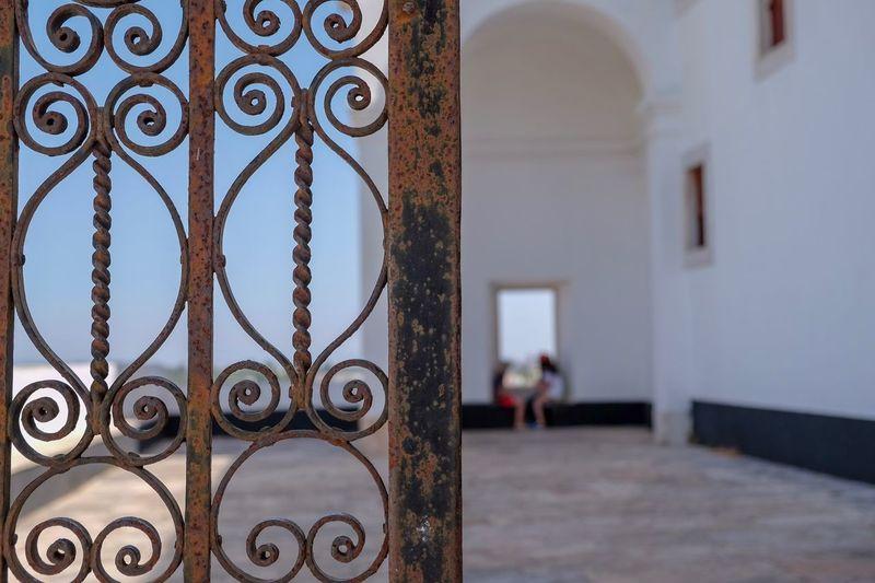 Estremoz Castle Estremoz Focus On Foreground Architecture Built Structure Building Entrance Pattern Safety