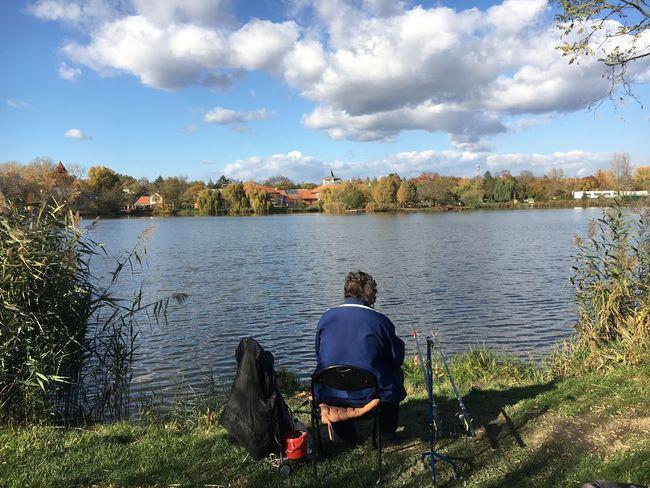 Lake Beauty In Nature Nyiregyhaza Fishing Tackle