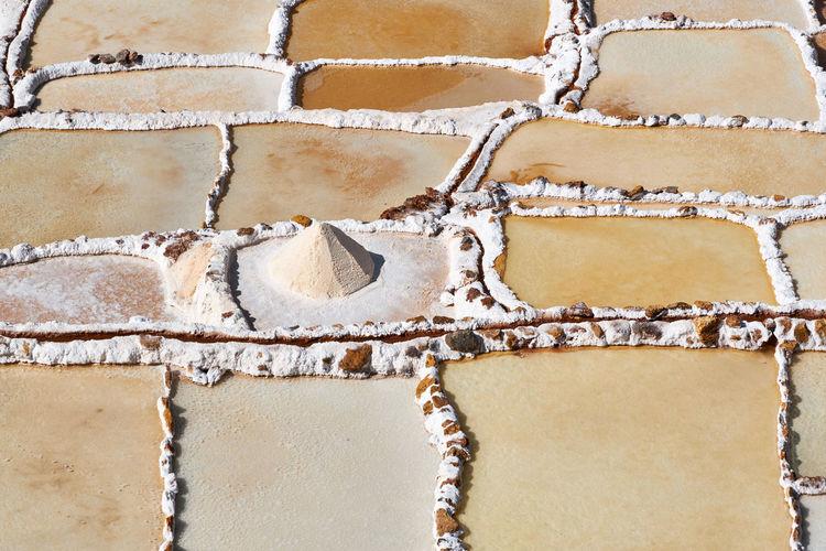 White gold of the inca - salinas de maras, peru