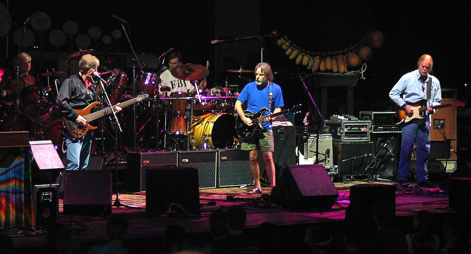 12/02/2002 Arts Culture And Entertainment Bill Kreutzmann Bob Weir Casual Clothing Concert Photography Conseco Fieldhouse Enjoyment Full Length Fun Grateful Dead Grateful Dead House Illuminated Indianapolis, IN Jeff Chimenti Jimmy Herring Leisure Activity Lifestyles Mickey Hart Night Phil Lesh Rob Barraco Rock And Roll Skill  The Other Ones