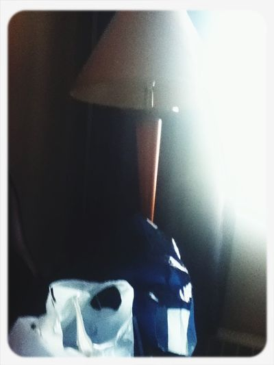 Needed to take a picture in the hotel Hotel Hmv Aeropostale Lamp