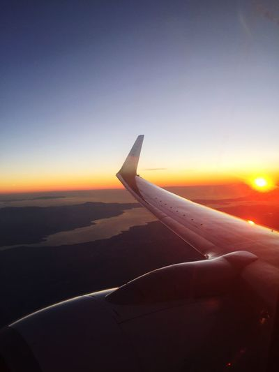 I'm watching you👀 Airplane Transportation Journey Airplane Wing Sunset Aerial View Travel Air Vehicle Mode Of Transport Sky Flying Nature Beauty In Nature Beautiful Sunlight Beaty Day Greece Athens Greece Athens City Athens Greece Sea Sea And Sky Mountain Escape From Reality
