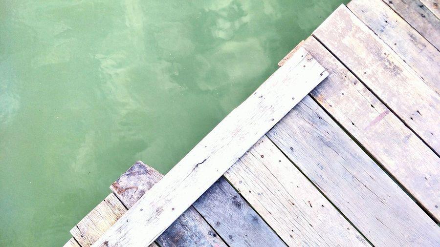 wooden floor on