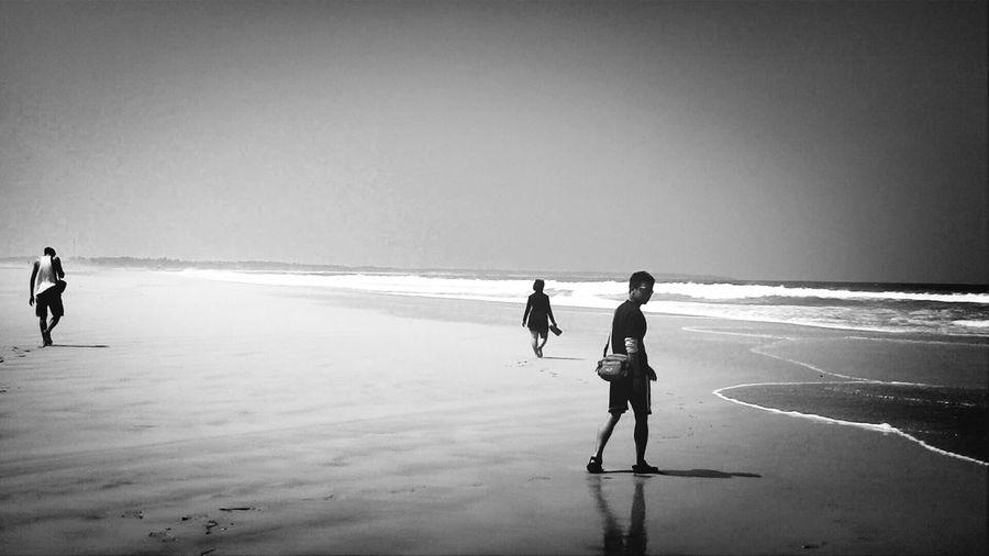 Black&white Beach Holiday First Eyeem Photo
