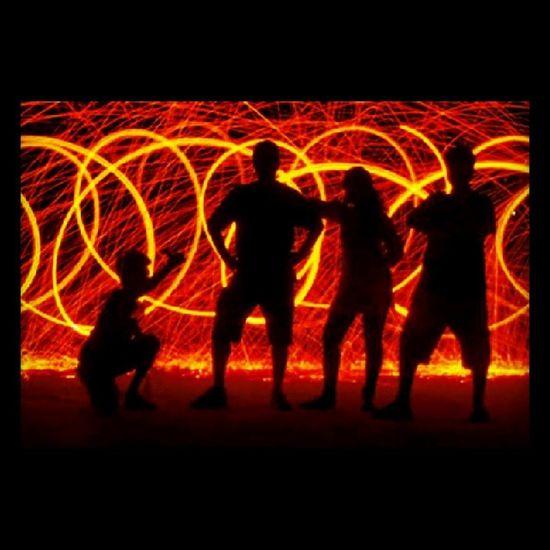 Justiceleague Longexposure Lightpainting Photography Fun Instadaily Steelwool Firearts
