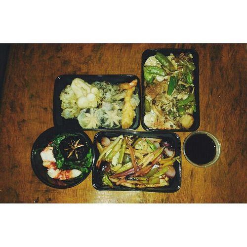 Japanese food is love 🍴🍱❤💋🍄🍤 Chopsticks Lunch Rice Food Tumblr Eye4photography  Eyeem Philippines Asian Girl EyeEm Breakfast