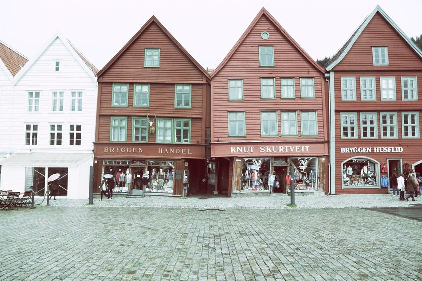 Old city, Bergen Architecture Street Paving Stone City Life Vacations Scenics Journey Landscape World Heritage