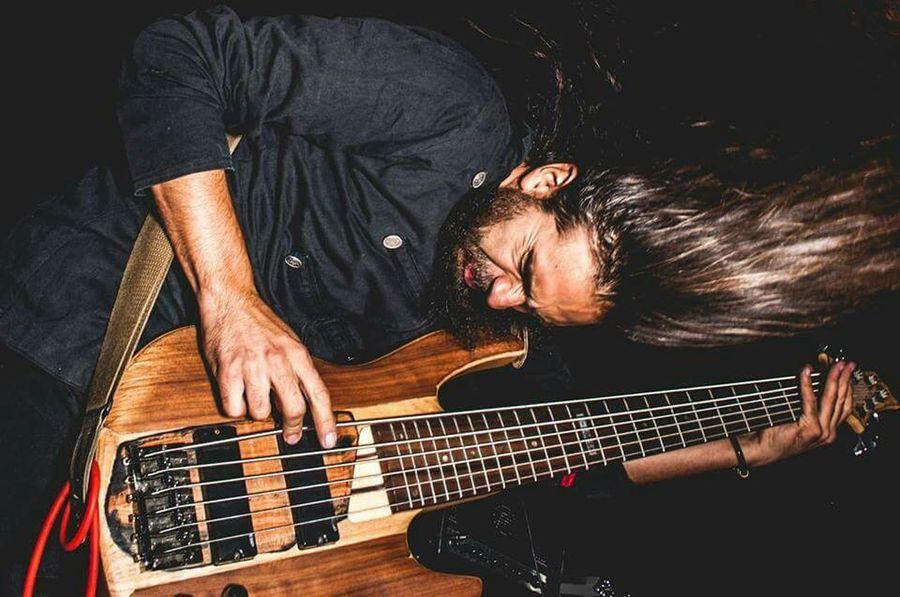 All my Kaijupower captured by Franco Gonzales Gass. Bass Player Bassist Metalhead Beard Perspective EyeEm Best Shots Popular Photos elperroartista Supernormal