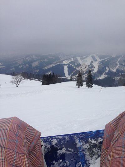 スノボ 雪山 Snow