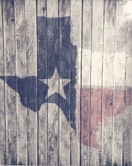 Texaspride Wood - Material Close-up Flag