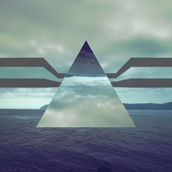 Not so sound Lorystripes Mexturesapp Fragmentapp Pugetsound pacificnw editaddict geometric shapes