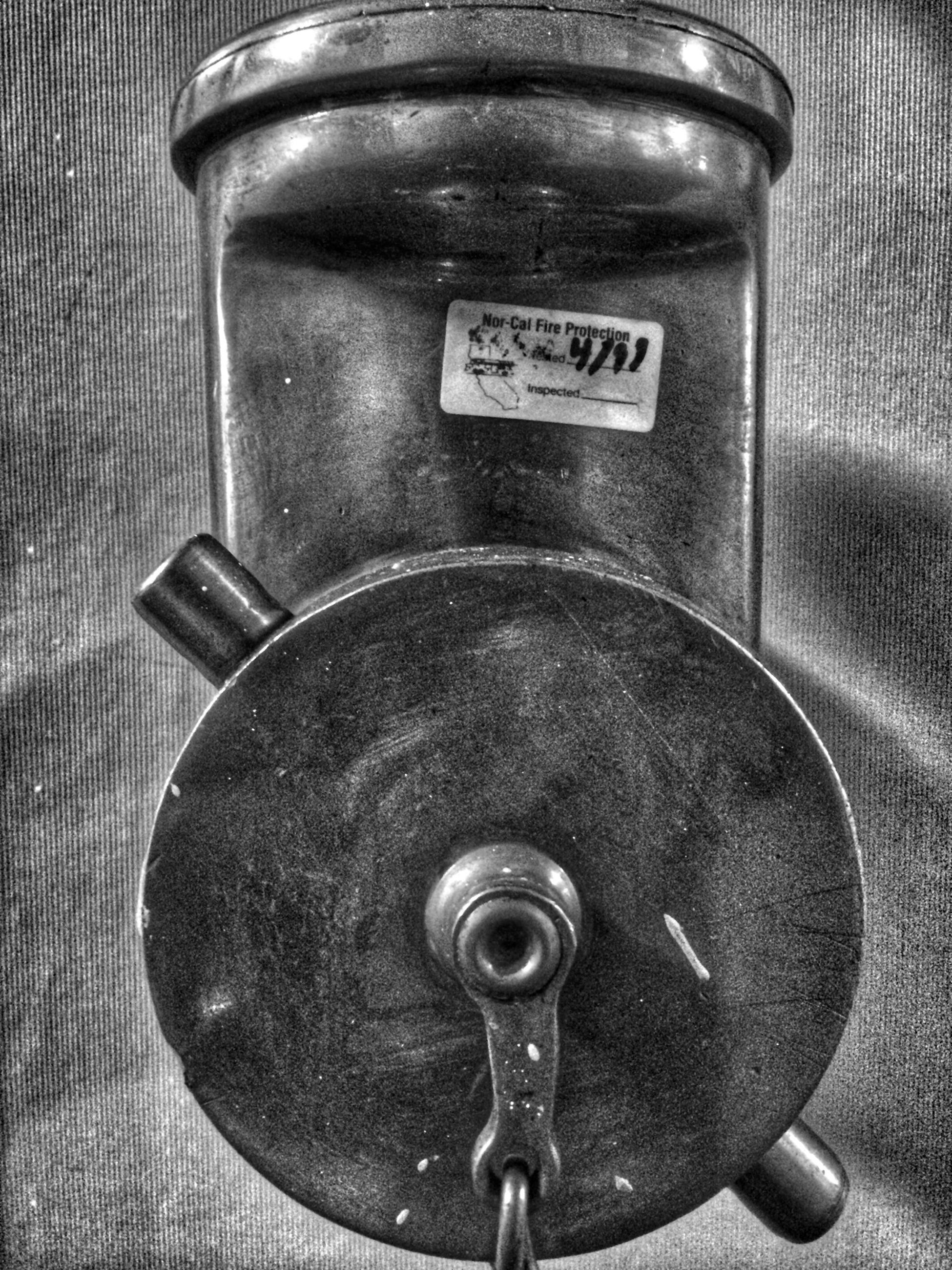 indoors, metal, close-up, metallic, still life, technology, communication, old-fashioned, old, no people, high angle view, number, antique, retro styled, connection, equipment, wall - building feature, text, handle, man made object