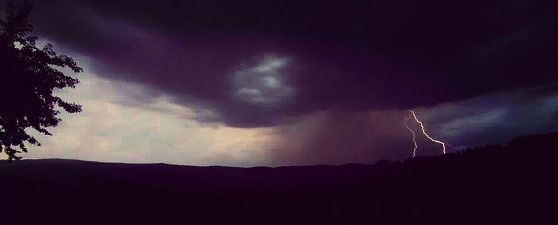Night Sky Gewitter