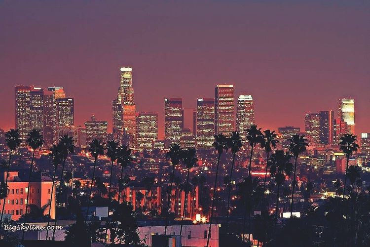 Los Angeles <3 so glad i live here in this beautiful place <3