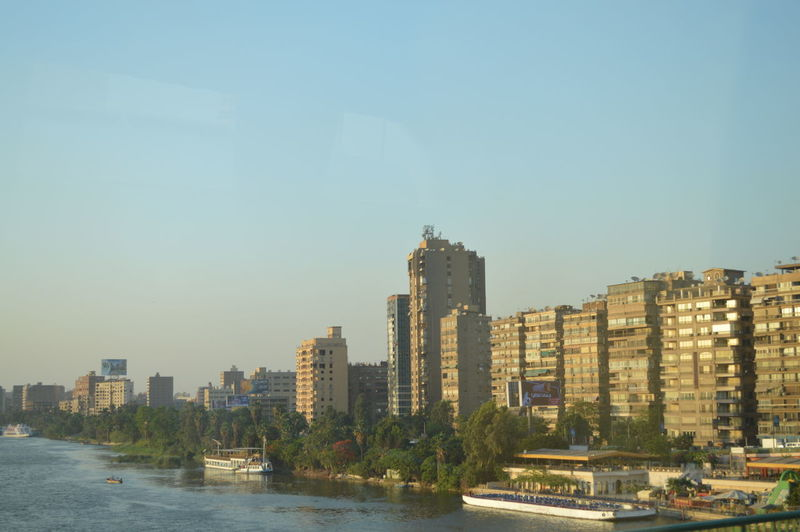 Cairo Egypt Nile River NİL Architecture Building Exterior City Cityscape Clear Sky Close-up Day Modern Nice Picture 😉👌 Outdoors River Sky Skyscraper Urban Skyline Waterfront