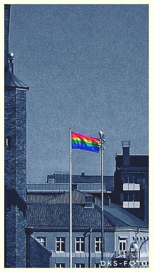 Sweden The True Story Eskilstuna-streetphotography Prideparade City Politics And Government Patriotism Flag Cityscape Sky Architecture Building Exterior Built Structure