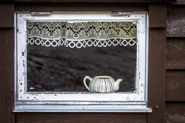 Tea Pot In Cabin