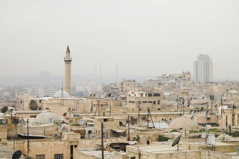 Aleppo City (2010) Syria  Aleppo Architecture Built Structure City Day