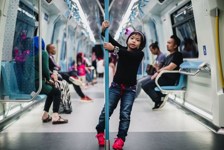 Mrt Malaysia City People Indoors  Standing Holding Commuter Incidental People Casual Clothing Subway Train Full Length Standing Women Waiting Rush Hour Indoors  Real People Men Subway Station City Young Adult Young Women Crowd Day Adult One Person