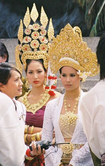 Thai Beauty Beautiful Girls  Beautiful Women Beauty Capital City Composition Full Frame Fun GB Happy Lifestyles London Looking At Camera Ornate Outdoor Photography Portrait Stage Make-up Thai Costumes Thai Culture Thai Festival Thai Tradition Tourist Attraction  Tourist Destination Two Beauties Uk Waist Up
