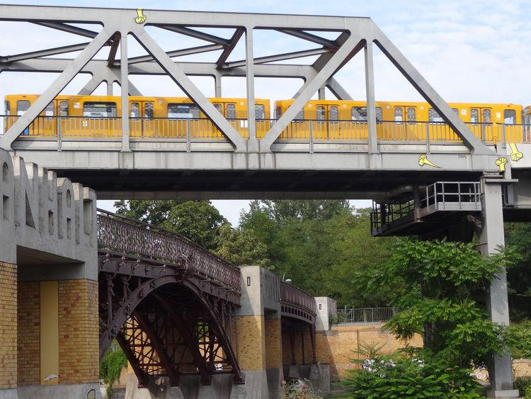 Berlin September 2016 Anhalter Bahnhof Bridge - Man Made Structure Built Structure Capture Berlin Engineering No People Railroad Bridge Railway Bridge Transportation U-Bahn