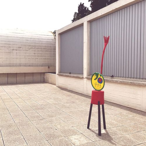Bauhaus Museum Barcelona Sculpture Miró  Day Architecture Safety Security Sunlight No People Outdoors