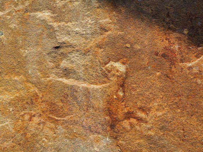 Full frame of a rock