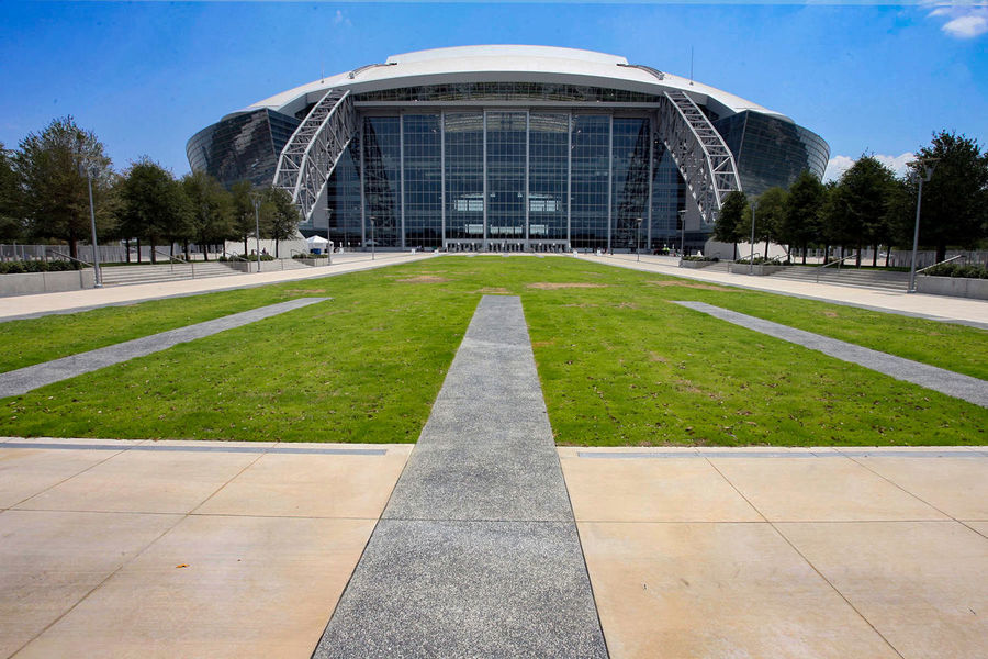 Texas stadium AT&T Stadium Dallas Cowboys Dallas Texas Dallas Stadium Stadium Architecture Building Exterior Built Structure City Day Façade Fame Futuristic Grass Modern No People Outdoors Plant Sky Travel Destinations Tree