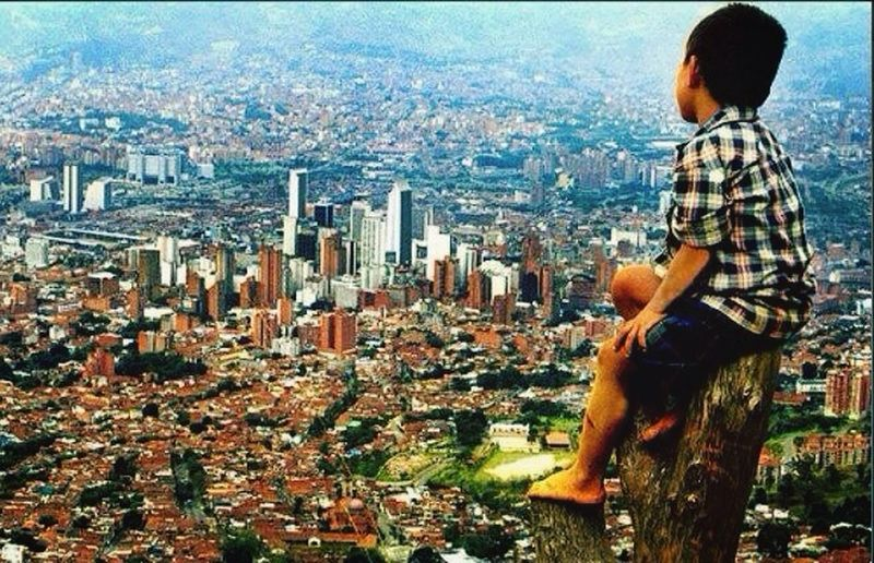 My city, Medellin in Colombia