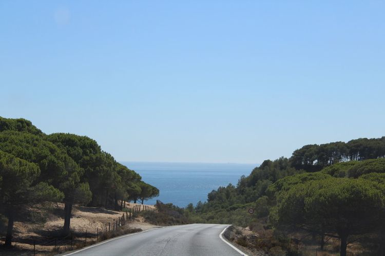 Travel Destinations Road Clear Sky The Way Forward Tranquil Scene Beauty In Nature