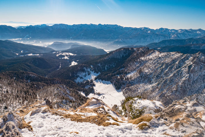 Slovenia View Winter Alps Beauty In Nature Cold Temperature Day Landscape Mountain Mountain Range Nature No People Outdoors Scenics Sky Snow Tranquil Scene Visevnik