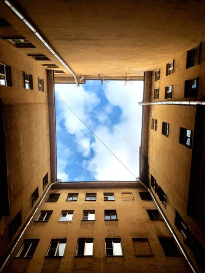 Building Exterior Built Structure Architecture Building Sky Window Cloud - Sky No People City Outdoors House Apartment