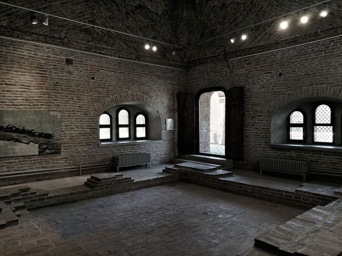 Interior of old building