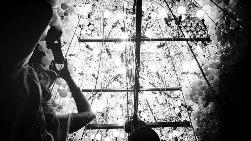 People nad the light Urban Escape EyeEm Best Shots - Black + White Light And Shadow Lights & Shadows