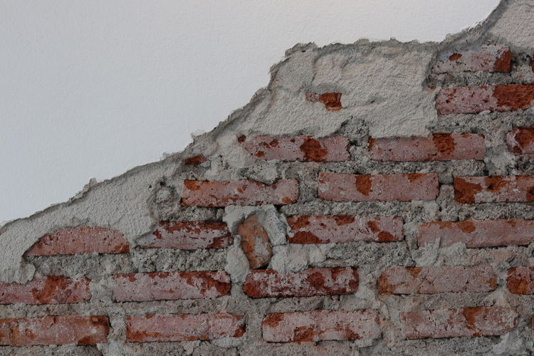 Brick wall for