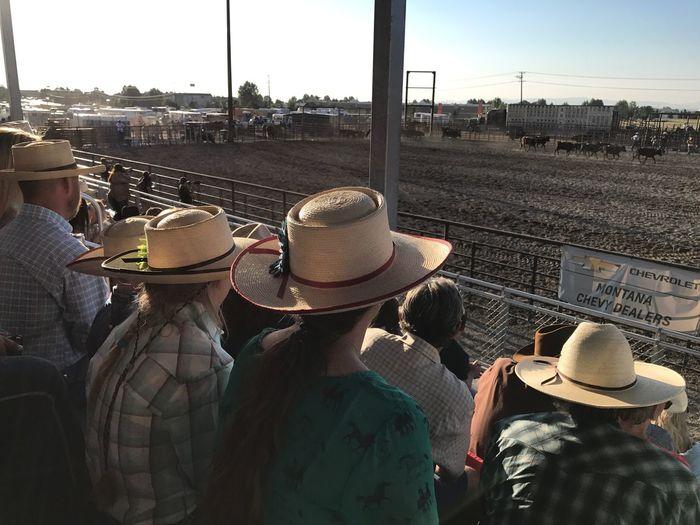 Rodeo Cowboys Montana Summer Fair People