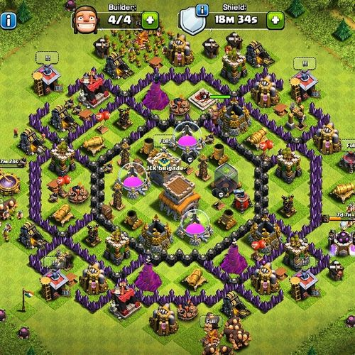 Clashofclans Clash Clashofclansaddict Townhall 8 Addiction Gamelover Love Games