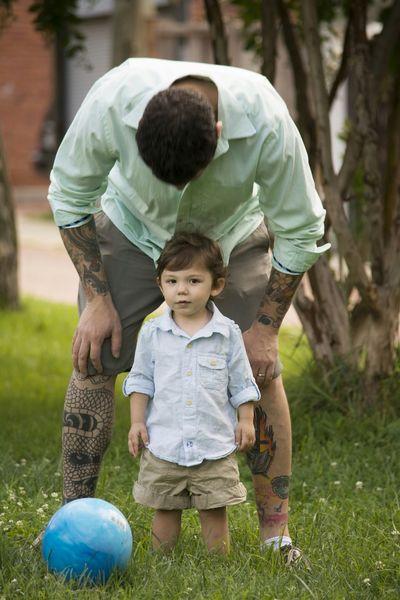 Father & Son Family Photoshoot Nikon Photography SNKshot