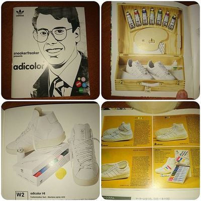 Some pages of a Nice little book a recieved a couple of months a go... Adicolor Trefoilonmyfeet Teamtrefoil 3Stripes2soles1love Thebrandwiththethreestripes Adidicted Ramon085