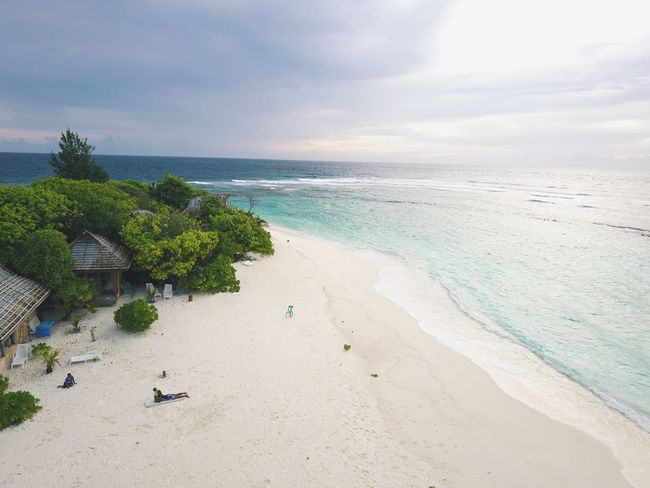 Beachphotography Private Secluded Beach Azure Water Clarity Today :) Maldives Islands Tranquility Scenics Horizon Over Water Beauty In Nature Sea Indian Ocean Hidden Places