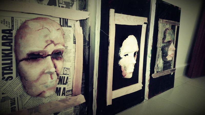 Art Mask Oil Painting