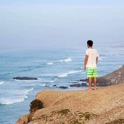 Sea Mare Oceans Ocean oceano atlantico vastita infinito orizzonte horizon alone life water wonder wonderfull portogallo portugal peniche baleal