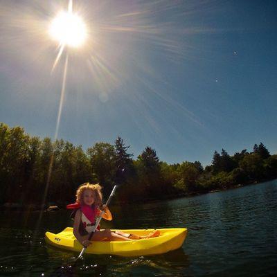 Kayaking on PrincesInlet , Lunenburg , Novascotia . visitnovascotia igersottawa gopro