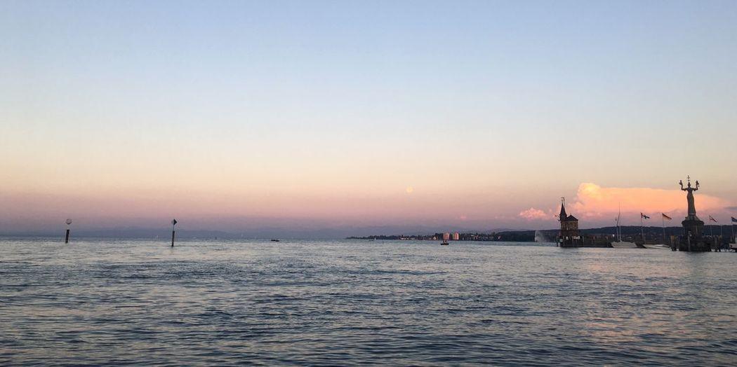 Abendstimmung Konstanz Bodensee